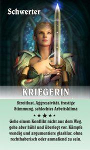 Kriegerin der Schwerter